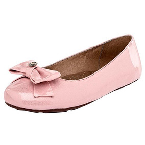 Zapatos Bebe 1004 Rosa Charol Pv Niña