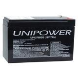 Bateria Estacionária Vrla 12v 7ah Unipower - 313378