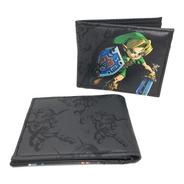Cartera Zelda Majoras Mask Link 2-caras