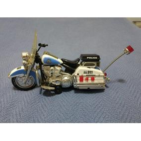 Moto Miniatura Policia - Road Rippers