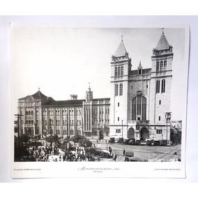 Cartão Postal São Paulo Antiga Folha De Sp 22x19 Cm 3 Und.