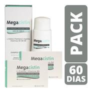 Megacistin Combo Tratamiento Completo - 2 Shampoo + 2 Compri