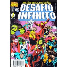 Thanos Desafio Infinito Completo 3 Edições - Hq Digital