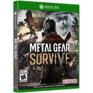 Metal Gear Survive Xbox One Mídia Física Novo  Pt-br Nfe