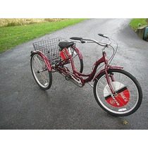 Tricicleta Triciclo Schwinn Meridian Aluminio R26 Original