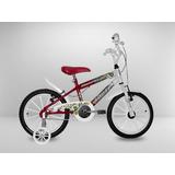Bicicleta Aro 16 Vermelha, Azul, Rosa Ou Roxa S/juros