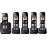 Telefone Sem Fio Com 4 Ramais, Bina E Viva Voz Panasonic