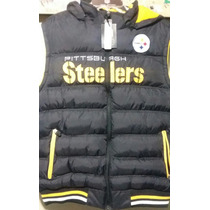 Nfl Chaleco Pittsburgh Steelers Para Caballero Talla G