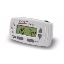 Metronomo Mini Profesional Digital Compacto Con Reloj Y Clip