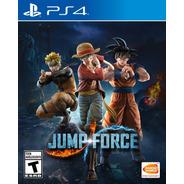 Jump Force - Ps4 Fisico Nuevo & Sellado