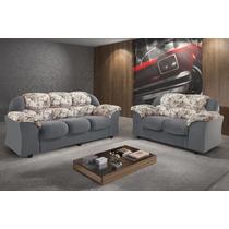 Conjunto Sofa 2x3 Lugares Athos