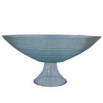 Taça Florida Para Centro De Mesa 40 X 39 X 9 Material Vidro