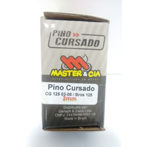 Pino Cursado Competição Cg 125 Vareta 2002/2008 2mm Master