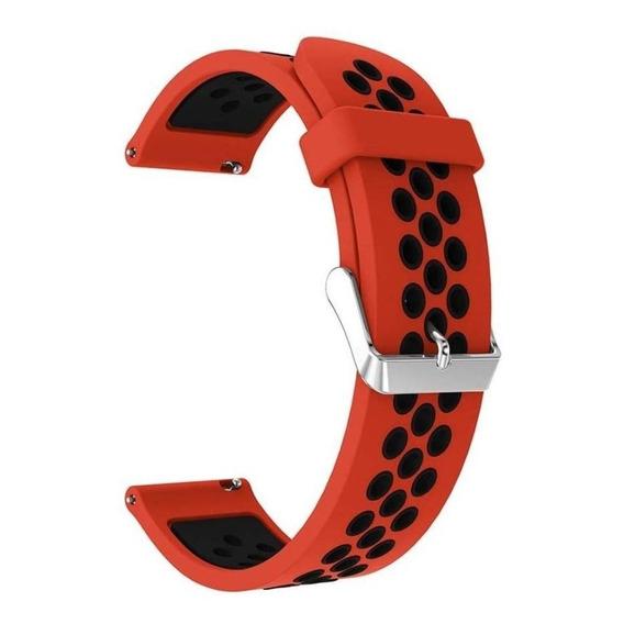 Malla Silicona 20mm 2 Tonos Sport Amazfit Bip Garmin Galaxy