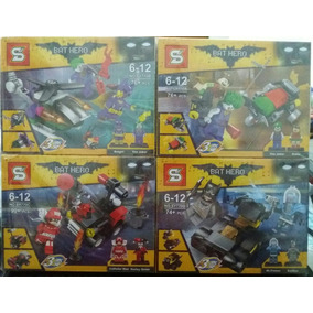 Kit Lego Batman - Arlequina - Mr. Freeze - Coringa - 316pcs