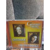 Cd Serie Grandes Nomes, Cassiane E Lea Mendonca