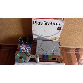 Play Station 1 En Caja Como Nuevo +300 Juegos Subasta!!!