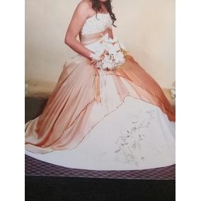 Hermoso Vestido De Xv Años Color Dorado