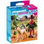 Retromex Playmobil 5373 Vaquero Con Potro Oeste Caballo