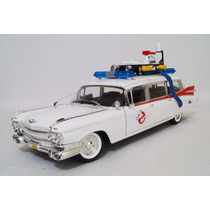 Ecto 1 Ghostbusters Cazafantasmas Escala 1:18 Hot Wheels