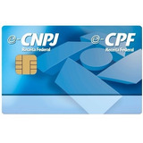 Cartão Smart Card Token Certificado Digital E-cnpj E-cpf