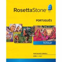 Rosetta Stone Portuguese Level 1 2 E 3 Version 4