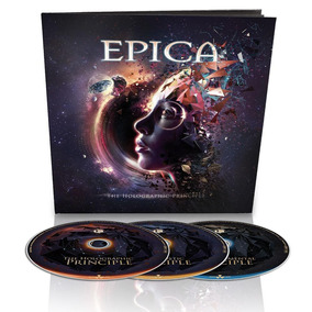 Epica The Holograpic Principle Earbook 3 Cd