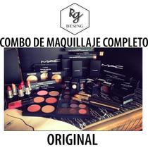Combo Maquillajes Mac Clinique Original Labiales Polvo Rimel