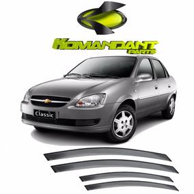 Calha De Chuva Chevrolet Corsa Classic - 2011 Em Diante