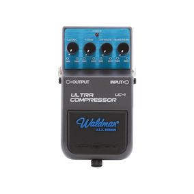 Pedal Para Guitarra Waldman Ultra Compressor Controles Level