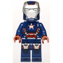 Minifigure Patriota ( Compatível Com Lego )