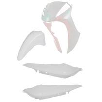 Kit Carenagem Plastico Para Biz 125 Ex Ano 2013 Branco