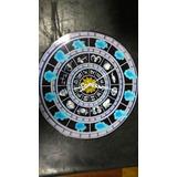 Reloj Saint Seiya Caballeros Del Zoodiaco A Pila 30cm Diam!