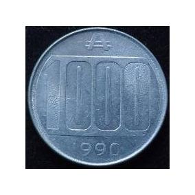 Moneda 1000 Australes 1990