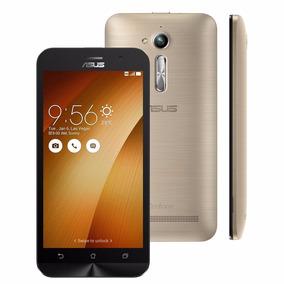 Celular Asus Zenfone Go Lte Zb500kl Dourado 8 Gb + Chiptim