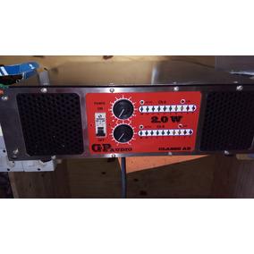 Gabinete Para Amplificadores De Audio Profissional