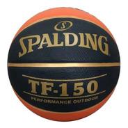 Bola Basquete Oficial Spalding Tf150 Bola Da Nba