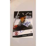 Ub Autografo Barajita Antonio Armas Boston Red Sox