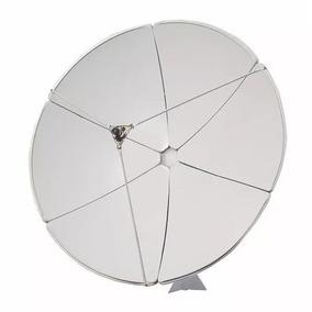 Antena Parabolica Banda C E Ku 1,80m Gigasat