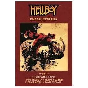Hellboy Edição Histórica - A Feiticeira Troll - Vol. 8