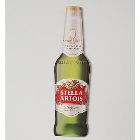 Placa Decorativa Da Stella Artois - Cortada À Laser - Real