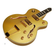 Guitarra EpiPhone Uptown Kat Es Topaz Gold Metallic