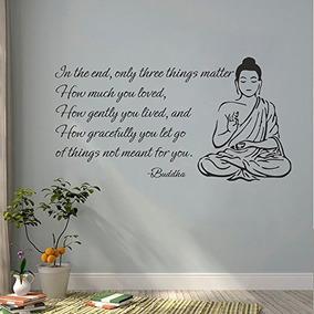 Pegatinas De Pared Decoración Buda Etiquetas De La Pared De