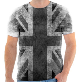 98f2d7d504 Camiseta Bandeira Da Inglaterra Masculinas Camisetas Manga Curta ...