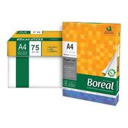 Resmas Boreal A4 75 Grs. Caja X10 500 Hojas