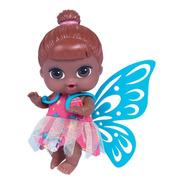 Boneca Babys Collection Fada Negra - Super Toys 374