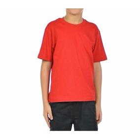 Camiseta Infantil Barata Básica Menino / Menina - Promoção