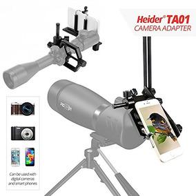 Heider Ta01 Universal Metal - Telescopio, Celular, Slr, Y D