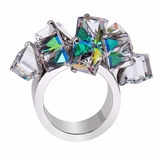 Anillo Swatch Love Explosion Jrd022 Crystal Cubes Bijoux