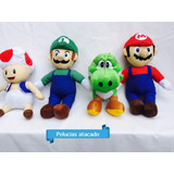 Mario Ou Luigi De Pelúcias Valor Da Unidade